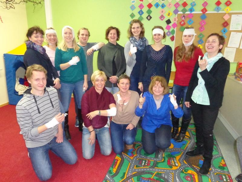 Erste-Hilfe-Kurs an der Rosendorfschule Steinfurth