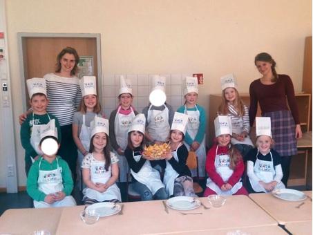 Die Koch-AG an der Rosendorfschule